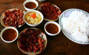 Bún thịt nướng Hà Tĩnh